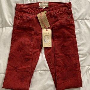 Current Elliott star cord pants